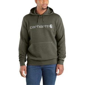 Carhartt Men's Force Delmont Signature Graphic Hooded Sweatshirt 103873